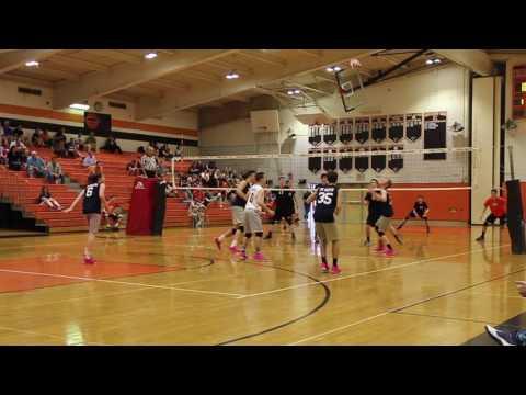Boys Volleyball CR North vs. Pennsbury (2016)