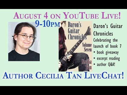 Daron's Guitar Chronicles BOOK SEVEN Launch Chat