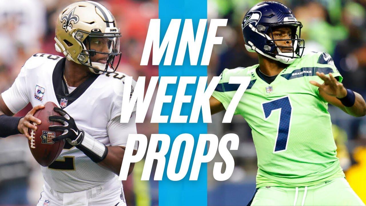 Saints vs. Seahawks player props, odds, Monday Night Football ...