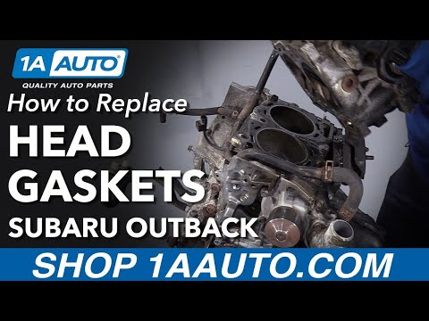 How to Replace Head Gaskets 2000-08 Subaru Outback