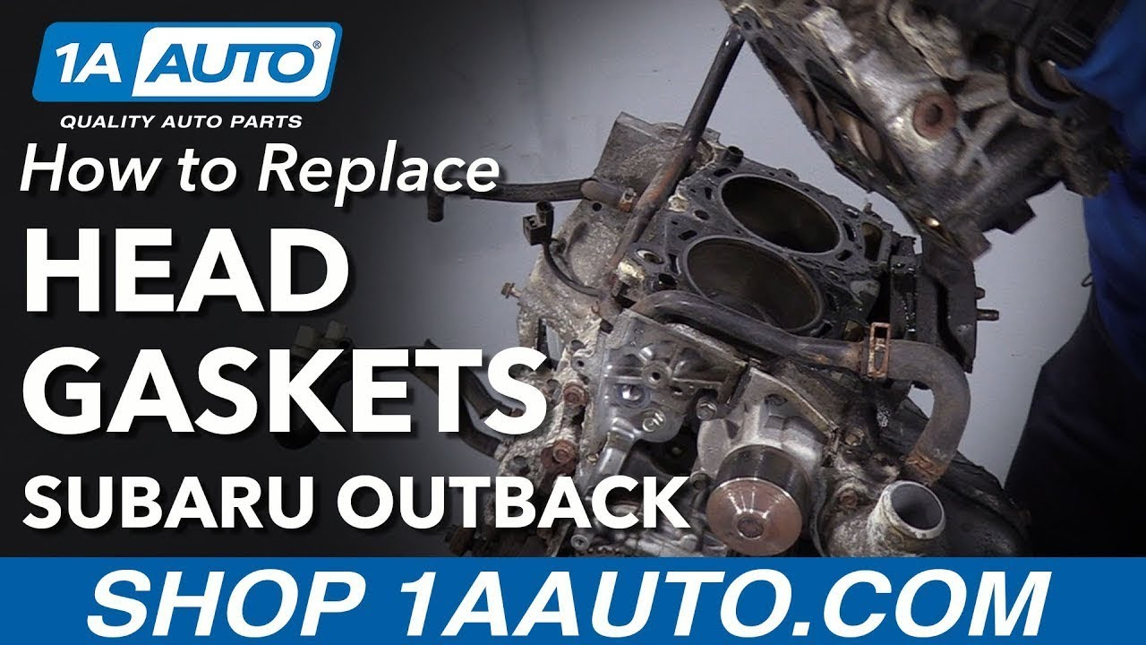 What Year Did Subaru Fix Head Gasket >> How To Replace Head Gaskets 00 09 Subaru Outback