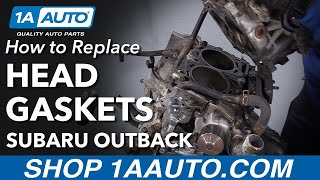 How to Replace Head Gaskets 00-09 Subaru Outback Wagon