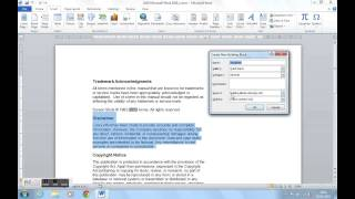 How To Use Quick Parts In Microsoft Word