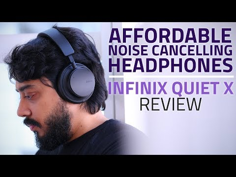 Infinix Quiet X Headphones | Most Affordable Active Noise Cancelling Headphones?