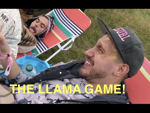 THE LLAMA GAME - best game ever!