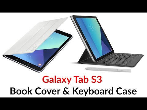 Galaxy Tab S3 Book Cover & Keyboard Case