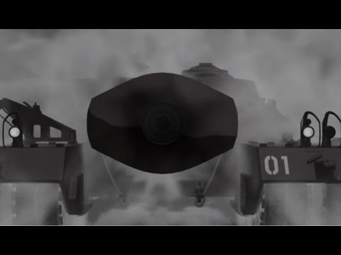 T95/T28 IN ACTION! Original sound HD(Girls und Panzer Movie)