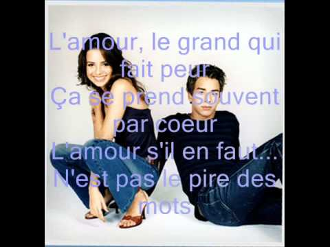 Le Pire Des Mots Words Are Not Enough - Sandy e junior Legendado