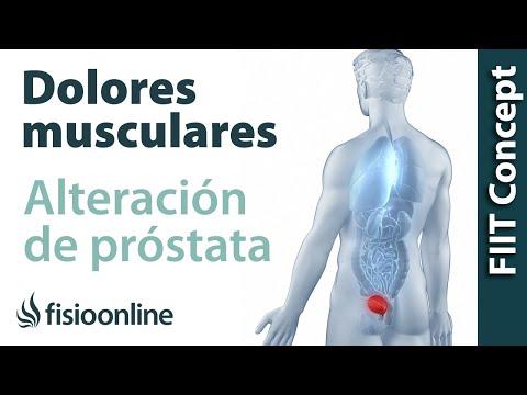 dolor de próstata molesto