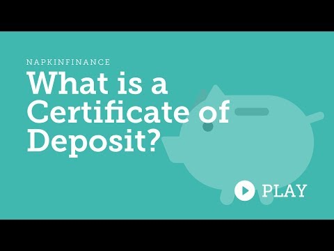 What is a Certificate of Deposit?