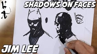 Jim Lee - How to Draw Shadows on Faces