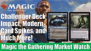MTG Market Watch: Challenger Deck 2019 Impact, Modern Card Spikes, and Much More