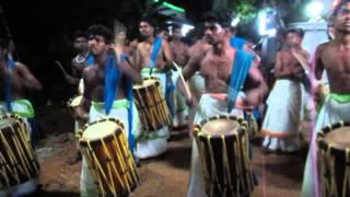 Sinkari Melam - Kerala style Chenda Melam