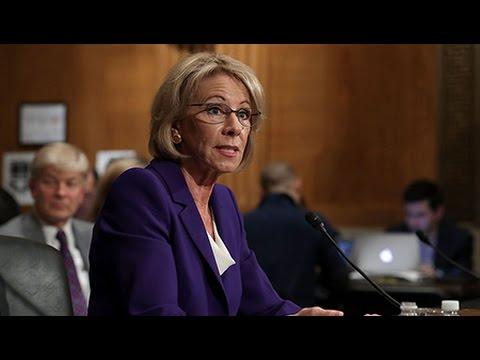 "Education Secretary Betsy DeVos is a ""Horrifying Prospect"" for Public Schools"