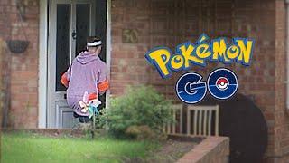 POKEMON GO: IN STRANGERS HOUSE!