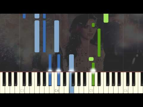 Katy Perry - Firework Piano Tutorial Synthesia with Sheet Music