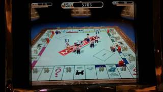 Monopoly Tycoon max bet slot machine bonus win at Parx casino