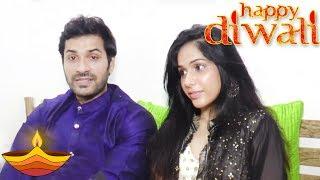 Mrunal Jain Diwali Celebration With Wife | Happy Diwali 2017