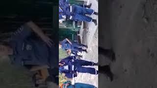 Вот так работает МЧС во время пожара в Найстенъярви
