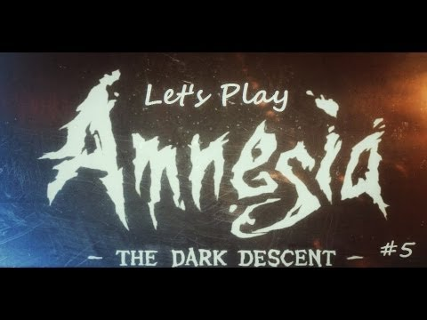 Let's Play Amnesia: The Dark Descent [Part 5] - FLESH EATING WATER!?!
