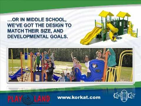 Playland Playground Equipment- Playland Playground Equipment Dealer, KorKat, Inc.