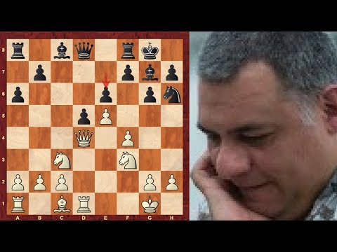Sicilian Defence Grand Prix : System With Bb5 : Instructive Dark Square Grip Game- S