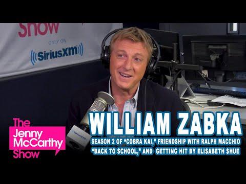 "William Zabka on ""Cobra Kai"" season 2, friendship with Ralph Macchio and Elisabeth Shue"