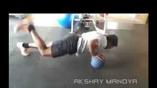 Power star puneet vs duniya vijay workout