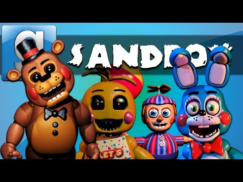 Thumbnail: Garry's Mod Sandbox Funny Moments Five Nights at Freddy's 3 Edition - Homer Simpson and More!