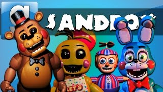 - Garry s Mod Sandbox Funny Moments Five Nights at Freddy s 3 Edition Homer Simpson and More