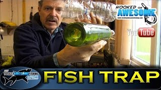 How To Make A Simple Fish Trap For Minnows - Tafishing