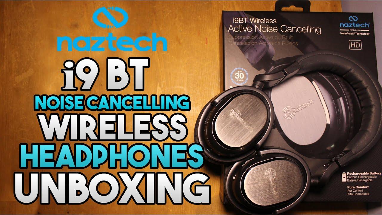 2e119851a3e Naztech i9 Bluetooth Noise Cancelling Headphones Unboxing!! - YouTube