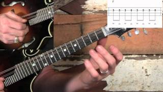 East Tennessee Blues Mandolin Lesson