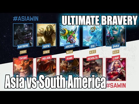 South America vs Asia | Ultimate Bravery Show Match IWC All-Star Melbourne 2015 Day 3