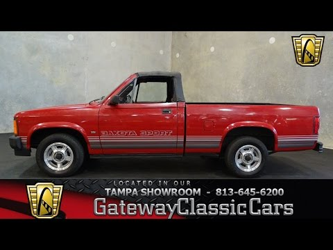 692-TPA - 1989 Dodge Dakota Sport Convertible