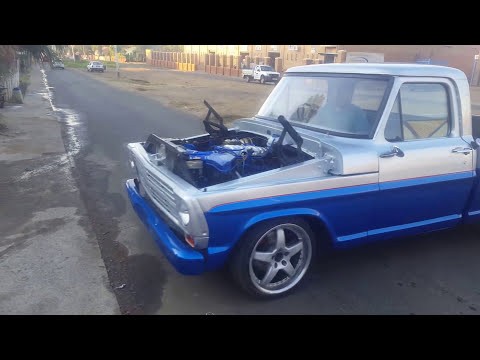 3UZ VVt i Lexus v8 Engine conversion (Ford 1968 ford pickup)