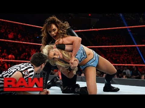 Charlotte Flair vs. Nia Jax: Raw, April 10, 2017