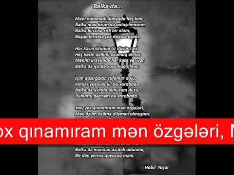 Habil Yaşar Bəlkə də