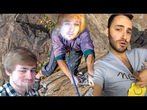 Mitch Jones Rock Climbing feat. Sodapoppin, Lea, SonyD (and Reckful)