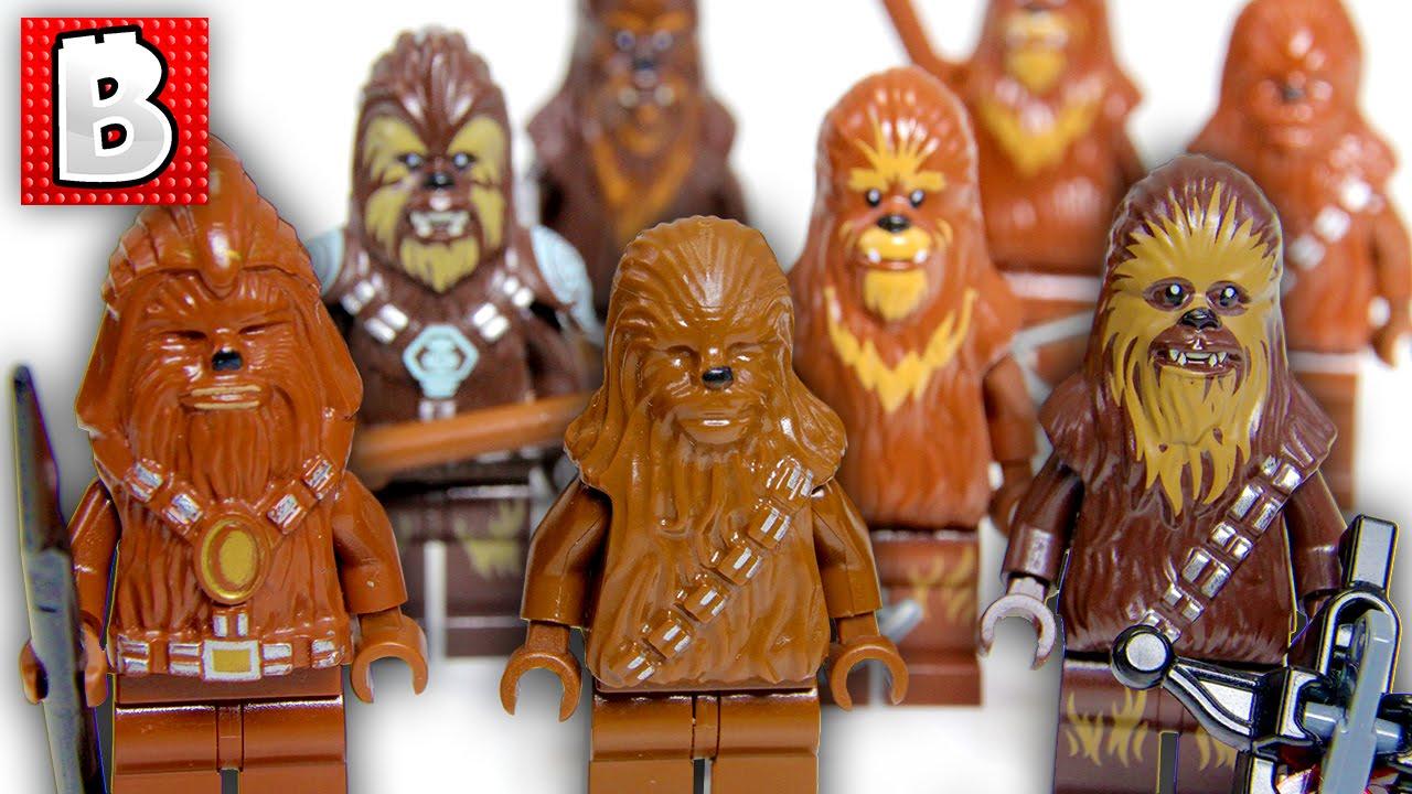 Lego Star Wars Chewbacca Mini Figure