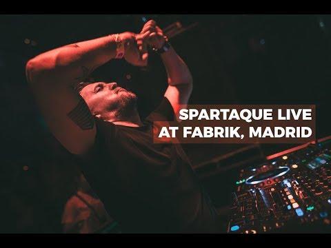 Spartaque live @ Code 15 Anniversary, Fabrik, Madrid, Spain