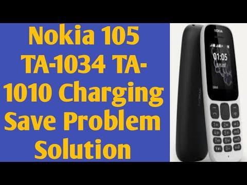 Nokia 105 (2017)TA-1010 TA-1034 Charging Not Save Problem Solding