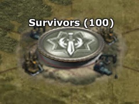 WAR COMMANDER - NEW SURVIVORS TOKEN BASE 100
