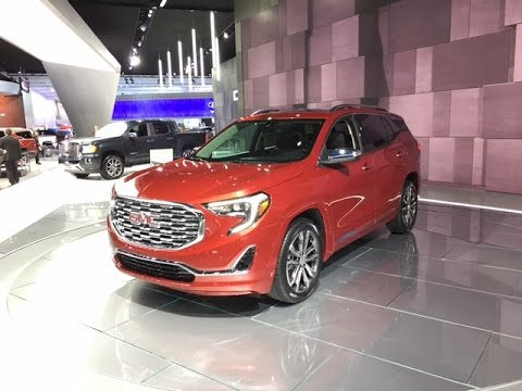 2018 GMC Terrain – Redline: First Look – 2017 NAIAS