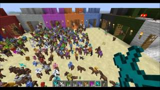 Minecraft Clay Soldiers Big Battle Tournament - Round 1