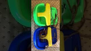 Обзор пластиковых качелей для детей 2 в 1 от интернет-магазина UnitSport.ru