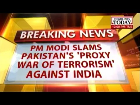 Modi slams Pakistan: It has lost the strength to fight a conventional war