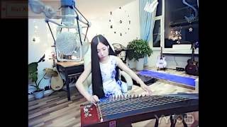 Girl xinh chơi đàn cầm hay