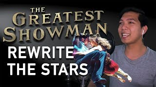 Gambar cover Rewrite The Stars (Zac Efron Part Only - Instrumental) - The Greatest Showman