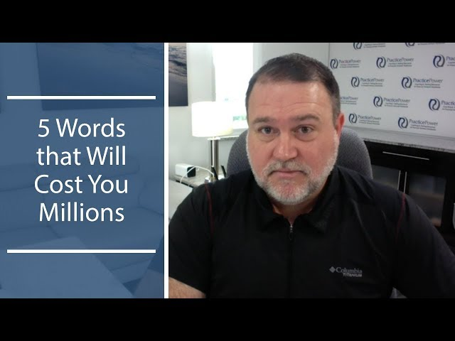 5 Words that Will Cost You Millions | The Magellan Network Show with Coach Joe Lukacs